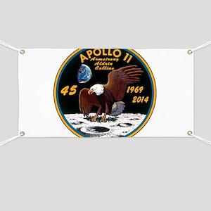 Apollo 11 45th Anniversary Banner