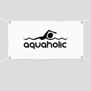 Aquaholic Banner