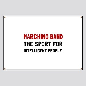 Marching Band Intelligent Banner