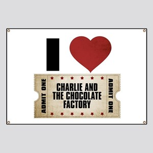 I Heart Charlie and the Chocolate Factory Ticket B