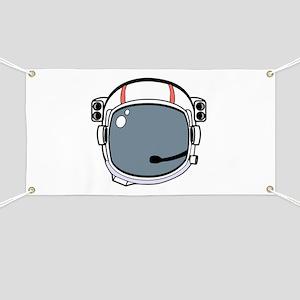 Astronaut Helmet Banner