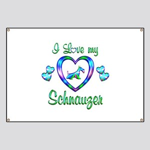 Love My Schnauzer Banner