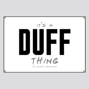 It's a Duff Thing Banner