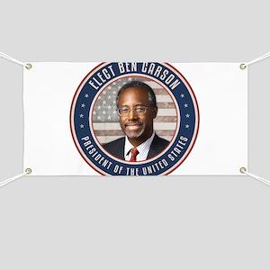 Elect Ben Carson President Banner