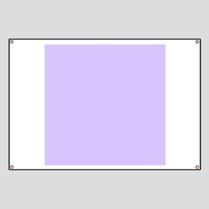 girly modern lilac purple Banner