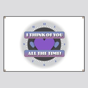 I Think of You All the Time Banner