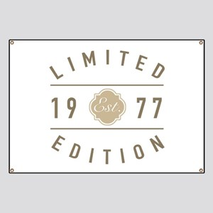 1977 Limited Edition Banner