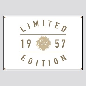 1957 Limited Edition Banner