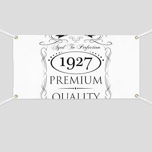 1927 Premium Quality Banner