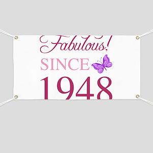 1948 Fabulous Birthday Banner