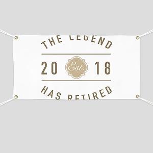 2018 Retired Legend Banner