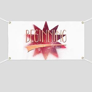 Beginning Banner
