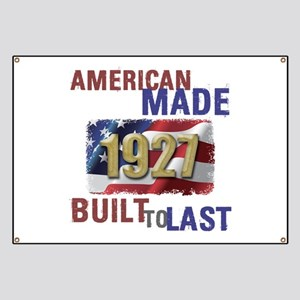1927 American Made Banner