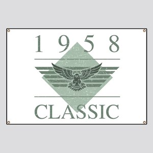 1958 Classic Eagle Banner