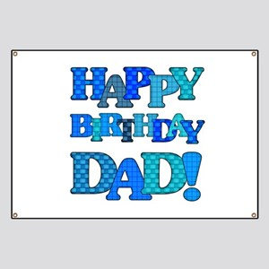 Happy Birthday Dad Banner