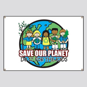 Save Our Planet Banner