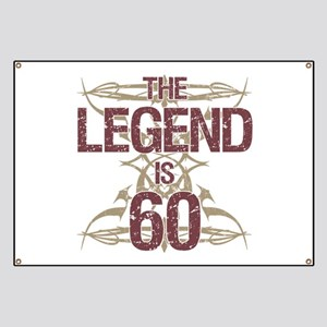 Men's Funny 60th Birthday Banner