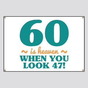 Sassy 60th Birthday Banner