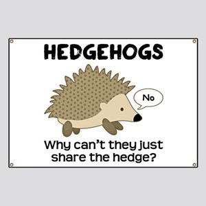 Hedgehog Pun Banner
