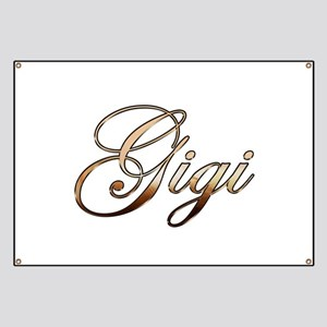 Gold Gigi Banner