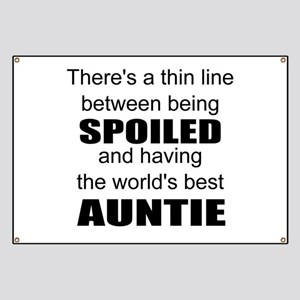 Funny auntie Banner