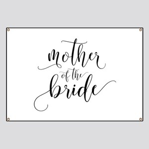 Mother of the Bride Typography Banner