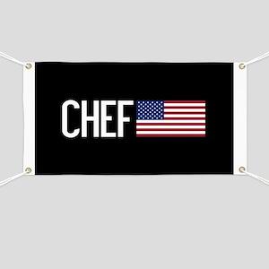 Careers: Chef (U.S. Flag) Banner
