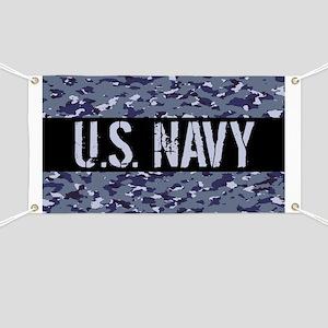 U.S. Navy: Camouflage (NWU I Colors) Banner