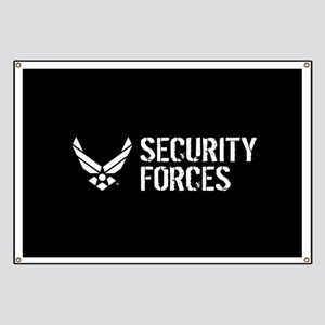 USAF: Security Forces Banner