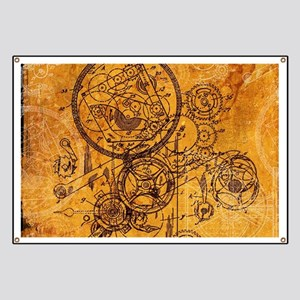 Clockwork Collage Banner