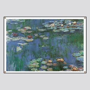 Waterlilies by Claude Monet Banner