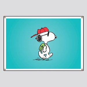 Snoopy Backpack Banner