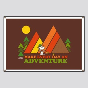 Snoopy-Make Every Day An Adventure Banner