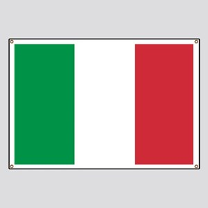 Authentic Italy national flag - SQ products Banner
