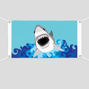Shark Attack Banner