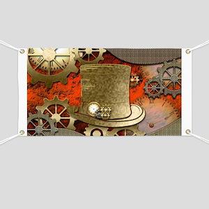 Steampunk witch hat Banner