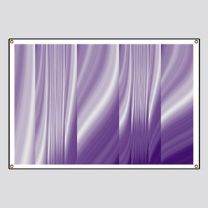 abstract purple grey Banner