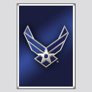 U.S. Air Force Logo Detailed Banner