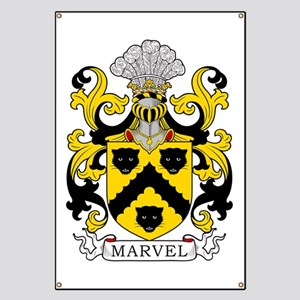 Marvel Coat of Arms Banner