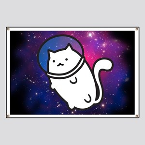 Fat Cat in Space Banner