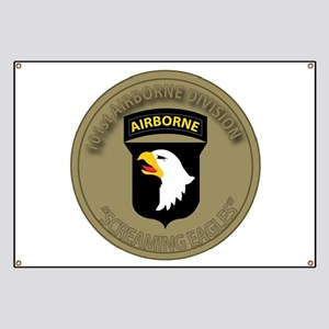 101st airborne screaming eagles Banner