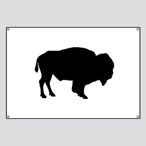 Buffalo Silhouette Banner