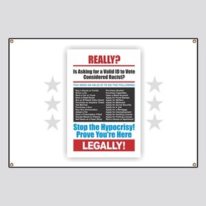 Voter ID Banner