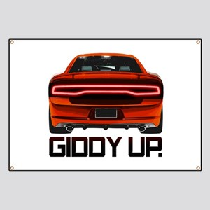 Charger - Giddy Up Banner