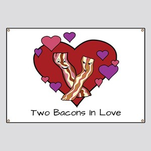 Two Bacons In Love Banner