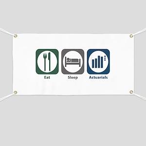 Eat Sleep Actuarials Banner