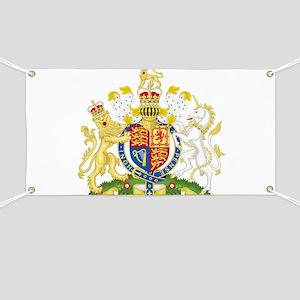 Royal COA of UK Banner