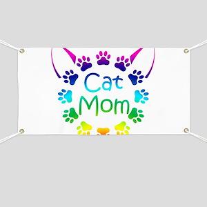 """Cat Mom"" Banner"