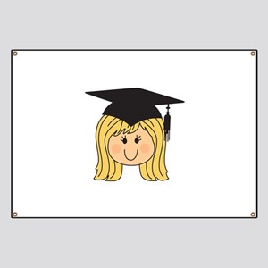 YOUNG WOMAN GRADUATE Banner