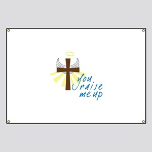 you raise me up Banner